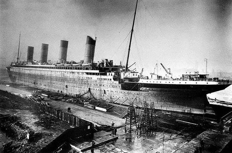 Титаник старое фото
