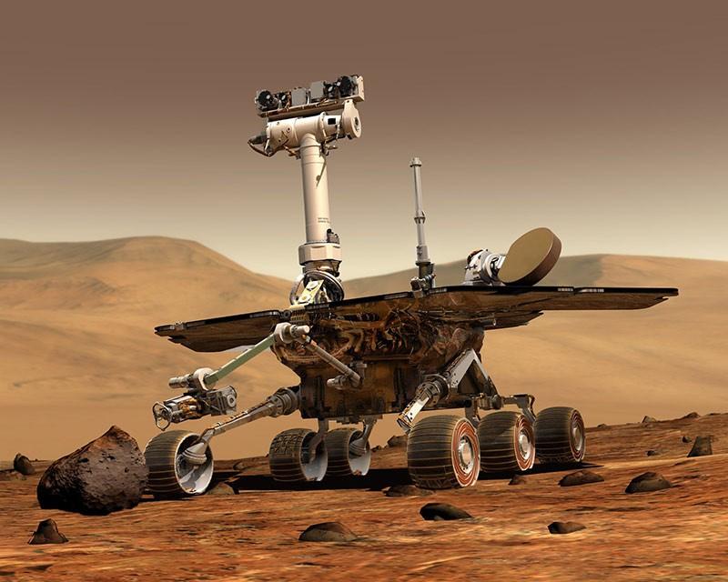 Марсоход Spirit фото