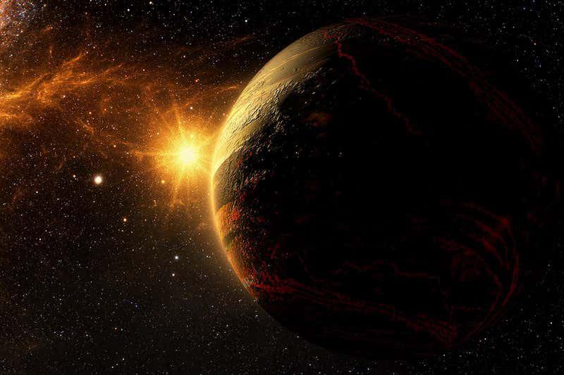 Экзопланета фото