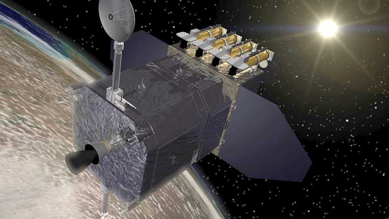 Обсерватория НАСА в космосе