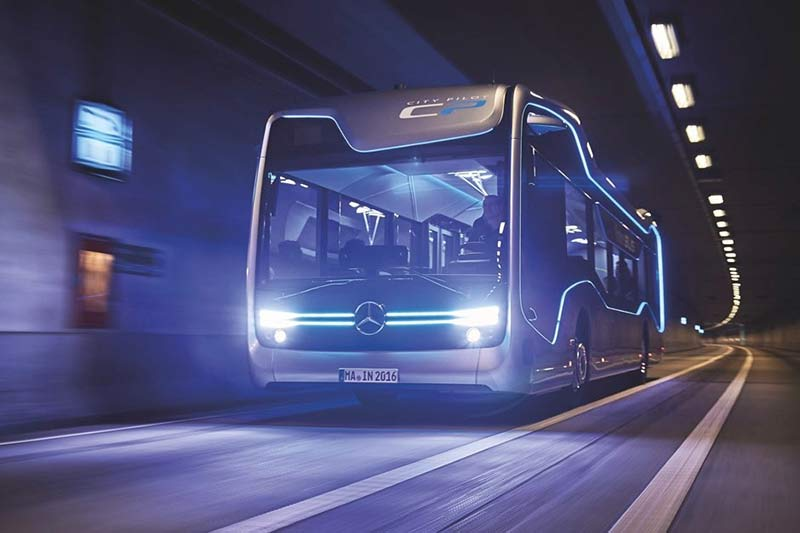 Mercedes-Benz Future Bus фото