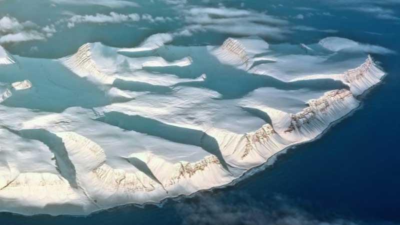 Ледяной покров Антарктиды фото