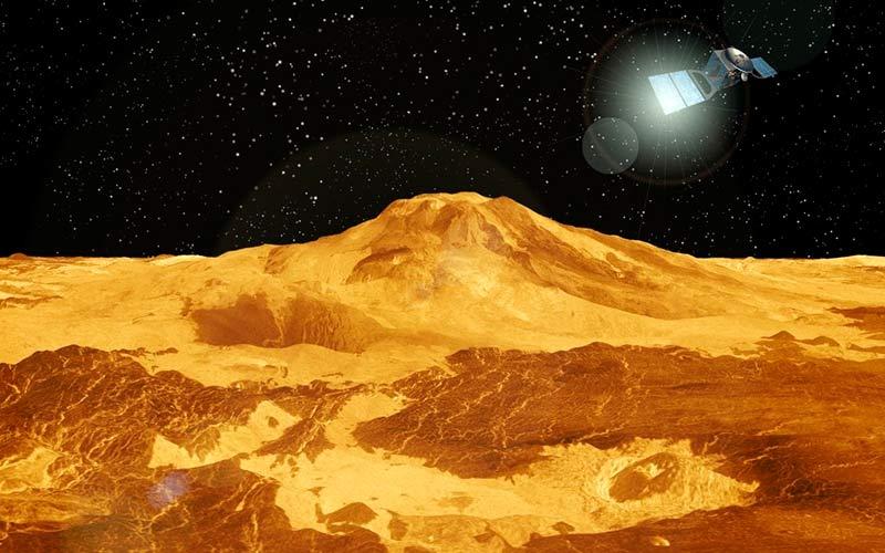 Ландшафт Венеры