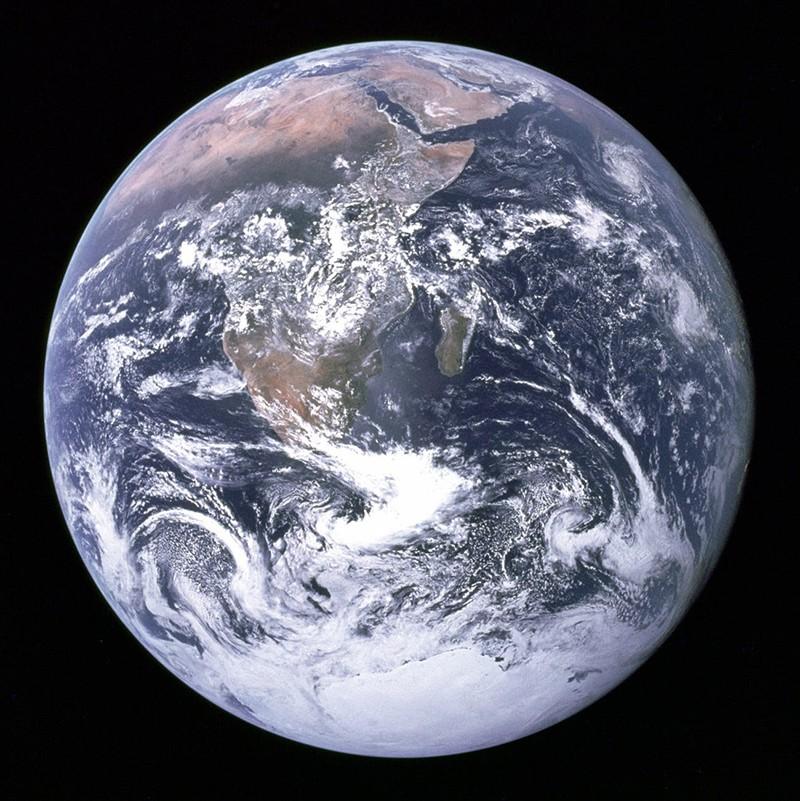 Фото Земли, снятое с «Аполлона-17»
