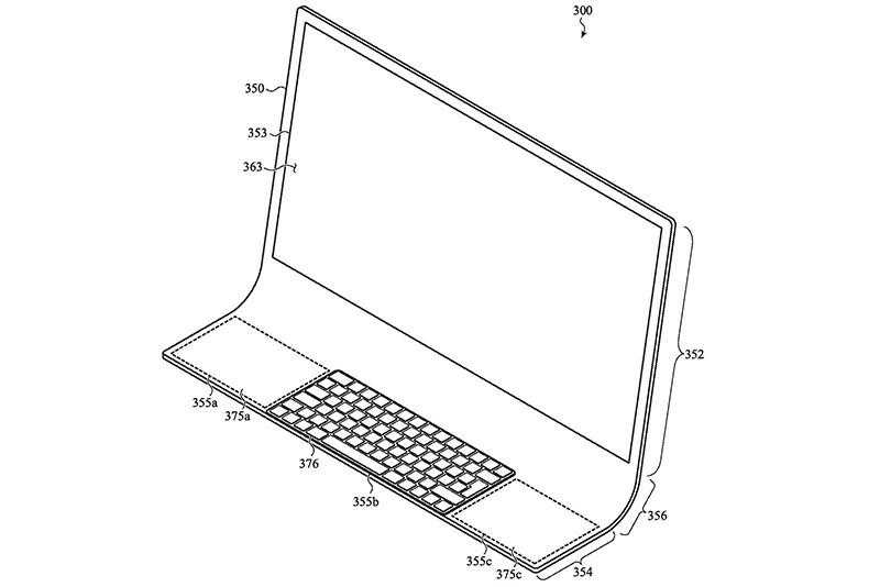 Гибкий ноутбук от Apple