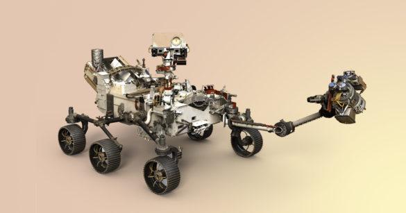 Марсоход «Марс-2020» фото
