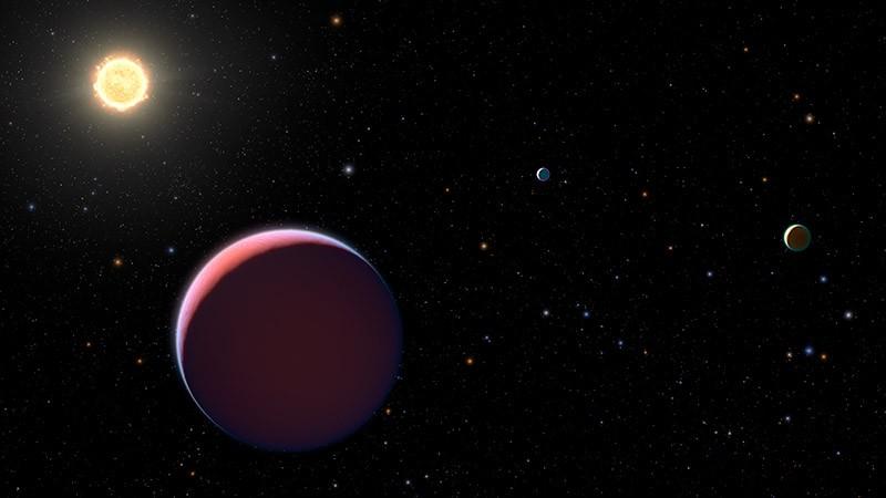 Новый вид планет в космосе