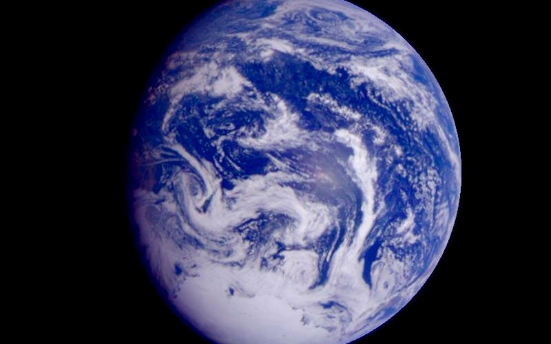 Тихий океан – фото из космоса