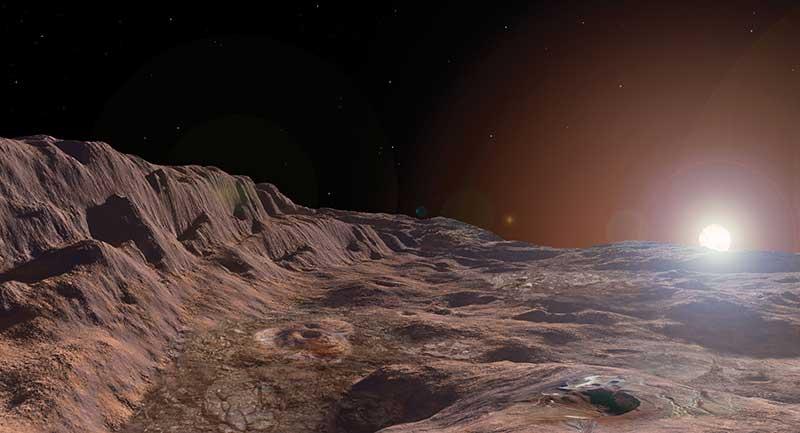 Вид космоса с Меркурия фото