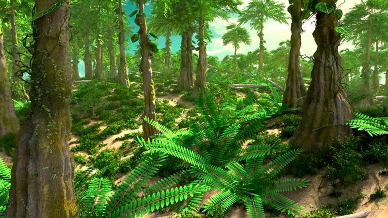 Первая растительность на Земле фото
