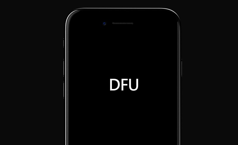 Айфон в режиме DFU