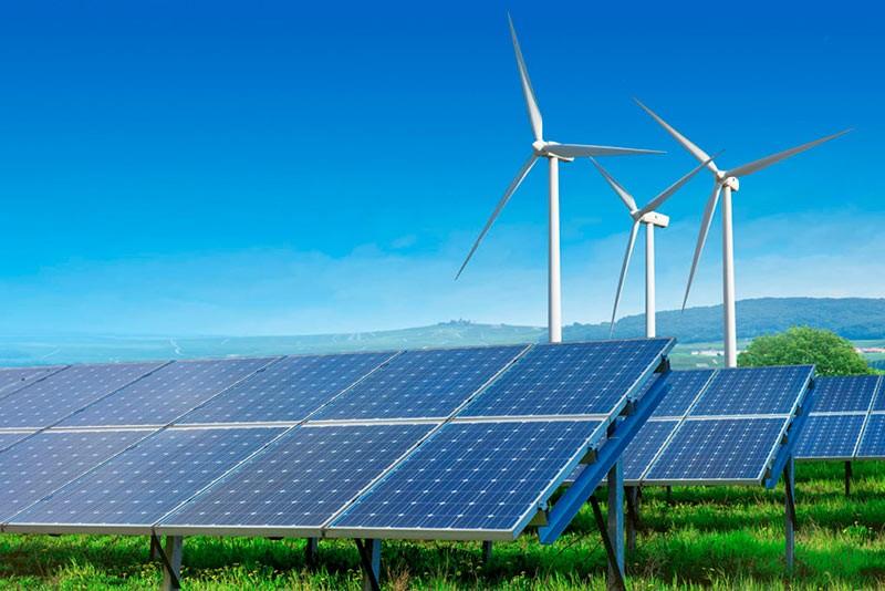 Возобновляемая энергетика фото