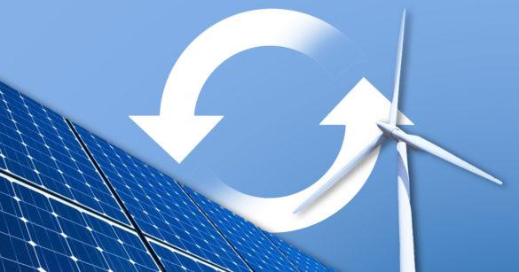 Альтернативные источники энергии иллюстрация