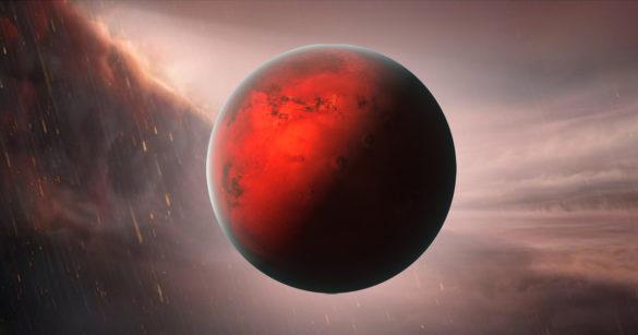 Экзопланета с железным дождем фото
