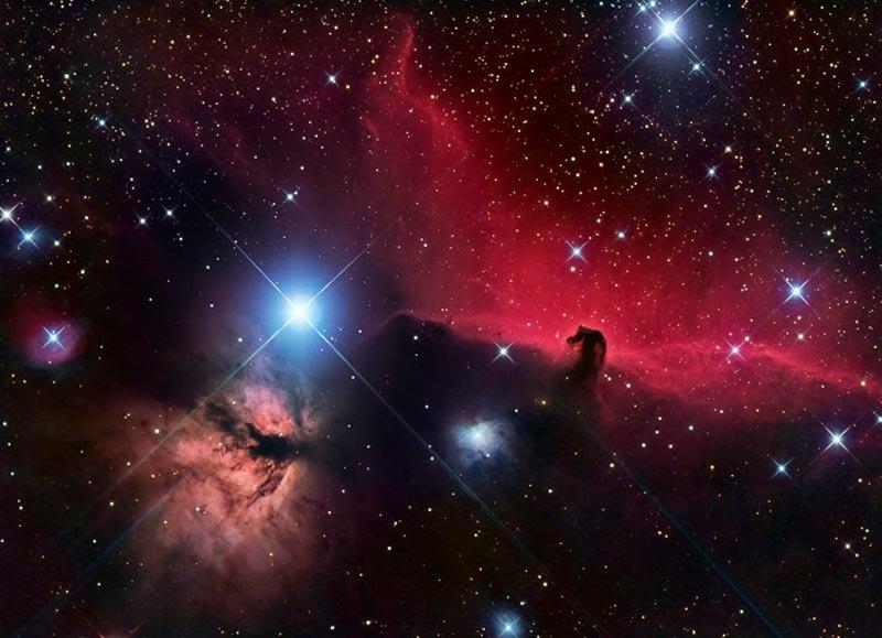 Туманность Конская голова фото