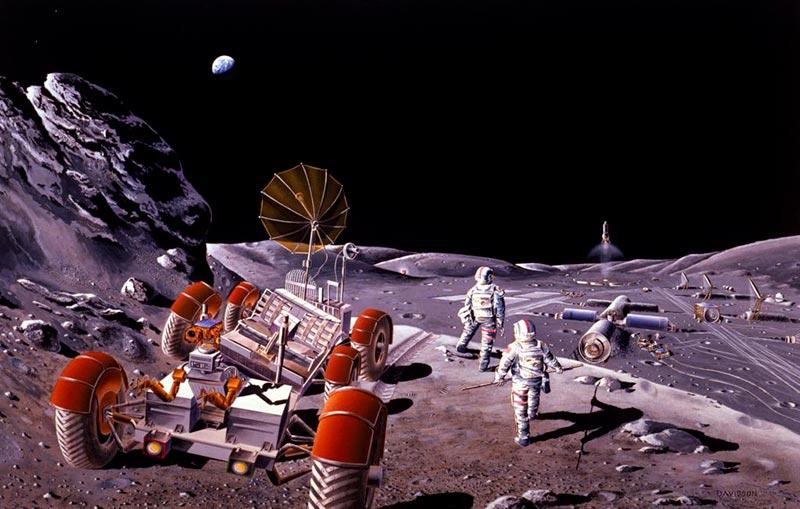 Что произойдёт, если люди начнут добывать полезные ископаемые на Луне?