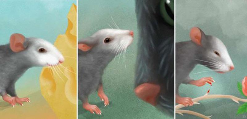 Эмоции у мыши картинка