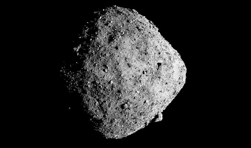 Астероид Бенну фото