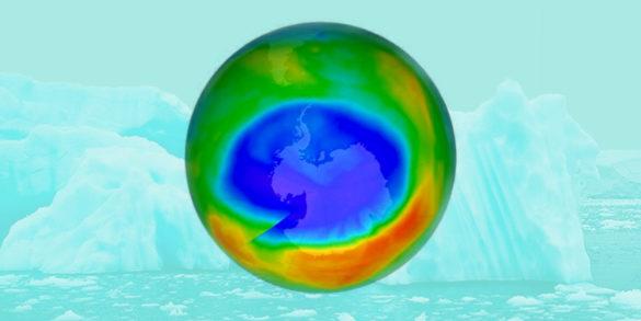 Озоновая дыра закрылась над Арктикой