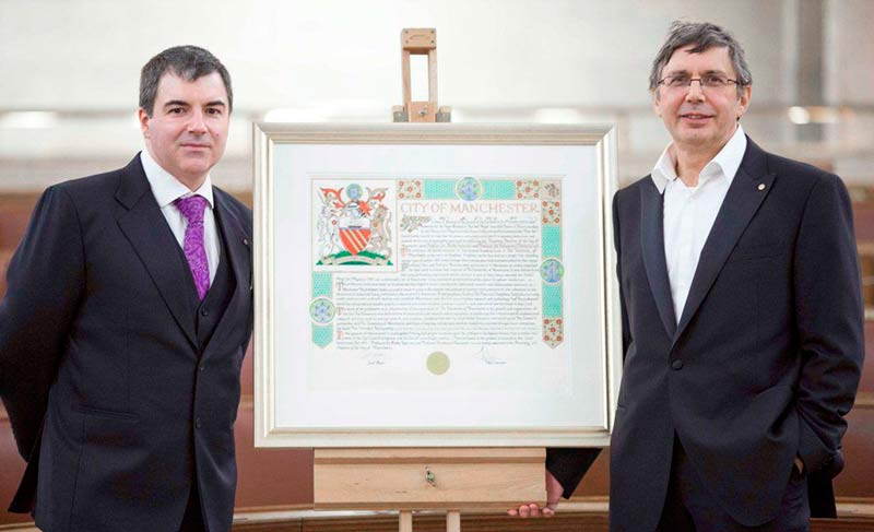 Андрей Гейм и Константин Новосёлов фото