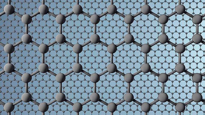 Кристаллическая решетка графена фото