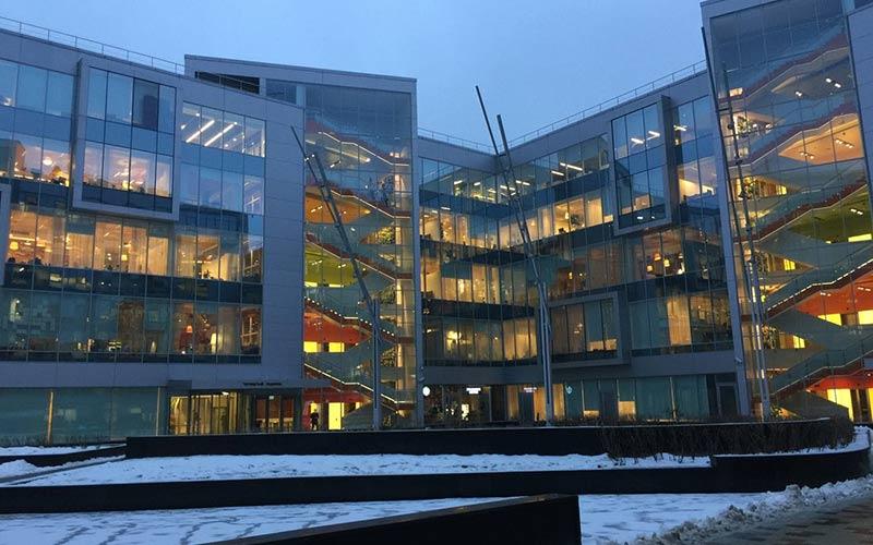 Главны офис Яндекса в Москве